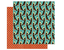 4500817 COUTURE-PAPER 12x12 LOVELY 1u Graphic45