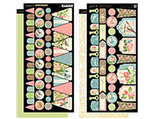 4500890 BOTANICAL TEA BANNERS Graphic45