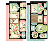 4500892 BOTANICAL TEA TAGS POCKETS Graphic45