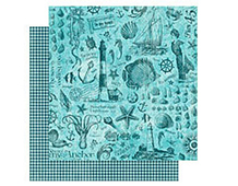 4500903 BY THE SEA-PAPER 12X12 MY ANCHOR 1u Graphic45