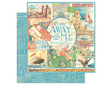 4500914 Papel doble cara COME AWAY WITH ME Come Away With Me Graphic45