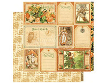 4500932 Papel doble cara AN EERIE TALE Fanciful Fable Graphic45