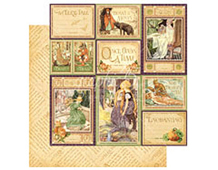 4500936 Papel doble cara AN EERIE TALE You Bewitch Me Graphic45