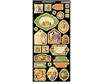 4500948 Carton con formas decorativas pre-cortadas AN EERIE TALE Graphic45