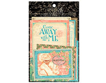 4500955 Tarjetas de papel surtido de disenos y medidas COME AWAY WITH ME Graphic45
