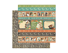 4500967 Papel doble cara RAINING CATS AND DOGS Animal House Graphic45 - Ítem