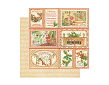 4500993 Papel doble cara TWAS THE NIGHT BEFORE CHRISTMAS Long Winter s Nap Graphic45