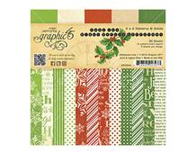 4500994 Set 36 papeles surtidos estampados base TWAS THE NIGHT BEFORE CHRISTMAS Graphic45