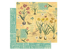 4501036 Papel doble cara April Flourish TIME TO FLOURISH Graphic45
