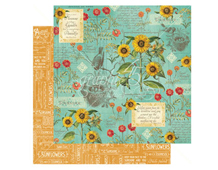 4501044 Papel doble cara August Flourish TIME TO FLOURISH Graphic45