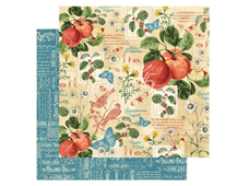 4501046 Papel doble cara September Flourish TIME TO FLOURISH Graphic45