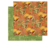 4501050 Papel doble cara November Flourish TIME TO FLOURISH Graphic45