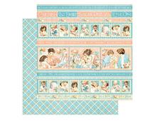 4501085 Papel doble cara PRECIOUS MEMORIES Cuddle Time Graphic45