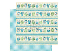 4501089 Papel doble cara PRECIOUS MEMORIES Puppy Dogs Tails Graphic45