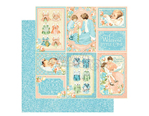 4501090 Papel doble cara PRECIOUS MEMORIES Pat-A-Cake Graphic45