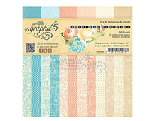 4501091 Set 36 papeles surtidos estampados base PRECIOUS MEMORIES Graphic45