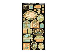 4501116 Carton con formas decorativas pre-cortadas ARTISAN STYLE Graphic45