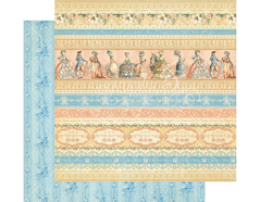 4501126 Papel doble cara GILDED LILY Royal Gardens Graphic45