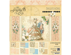 4501135 Set 24 papeles surtidos GILDED LILY Graphic45