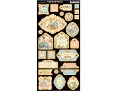 4501138 Carton con formas decorativas pre-cortadas GILDED LILY Graphic45