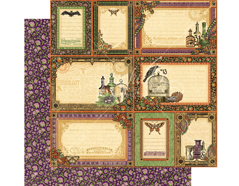 4501146 Papel doble cara RARE ODDITIES Random Relics Graphic45 - Ítem