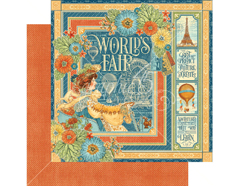 4501167 Papel doble cara WORLD S FAIR World s Fair Graphic45