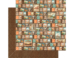 4501306 Papel doble cara CITYSCAPES Well Traveled Graphic45