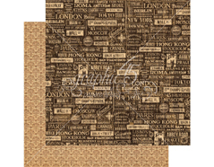 4501308 Papel doble cara CITYSCAPES Crossroads Graphic45