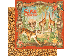 4501356 Papel doble cara SAFARI ADVENTURE Safari Adventure Graphic45 - Ítem