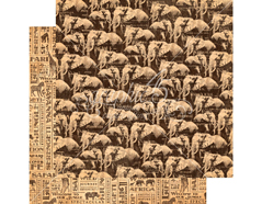 4501365 Papel doble cara SAFARI ADVENTURE Great Migration Graphic45