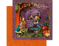 4501378 Papel dobel cara HALLOWE EN IN WONDERLAND Hallowe en in Wonderland Graphic45 - Ítem