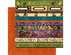 4501389 Papel dobel cara HALLOWE EN IN WONDERLAND At Last Graphic45