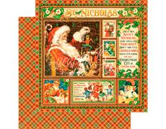 4501397 Papel doble cara ST NICHOLAS St Nicholas Graphic45