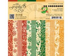 4501409 Set 36 papeles surtidos estampados base ST NICHOLAS Graphic45