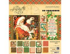 4501412 Set 24 papeles surtidos ST NICHOLAS Graphic45