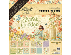 4501421 Set completo DELUXE COLLECTION EDITION Secret Garden Deluxe Collector s Edition Graphic45