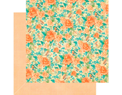 4501423 Papel doble cara CAFE PARISIAN Floral Souffle Graphic45