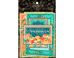 4501442 Tarjetas de papel en disenos surtidos CAFE PARISIAN Graphic45 - Ítem