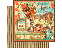 4501446 Papel doble cara OFF TO THE RACES Off to the Races Graphic45