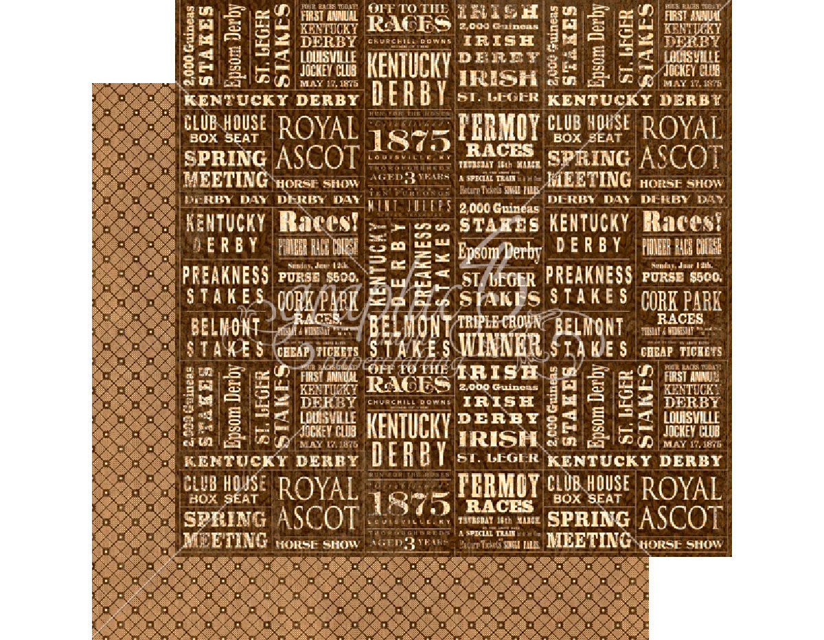 4501455 Papel doble cara OFF TO THE RACES Take the Lead Graphic45