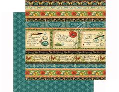 4501475 Papel doble cara NATURE SKETCHBOOK Seasonal Splendor Graphic45