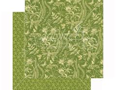 4501476 Papel doble cara NATURE SKETCHBOOK Flora Fascination Graphic45