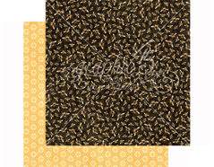 4501480 Papel doble cara NATURE SKETCHBOOK Harmonious Honeybees Graphic45