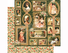 4501500 Papel doble cara PORTRAIT OF A LADY Elizabeth Graphic45