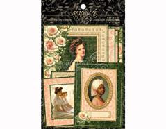 4501516 Tarjetas de papel en disenos surtidos PORTRAIT OF A LADY Graphic45