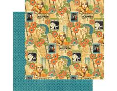 4501529 Papel doble cara VINTAGE HOLLYWOOD Dazzling Diva Graphic45 - Ítem
