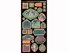 4501552 Carton con formas decorativas pre-cortadas MIDNIGHT MASQUERADE Graphic45