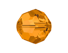 5000-203-10 Cuentas cristal Bola 5000 topaz Swarovski Autorized Retailer