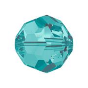 A5000-229-4 5000-229-4 Cuentas cristal Bola 5000 blue zircon Swarovski Autorized Retailer