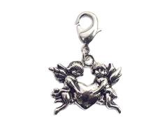 Z50118 50118 Colgante metalico NICE CHARMS angeles con corazon con mosqueton Innspiro